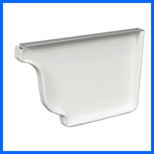 K-Style Aluminum Right End Cap – 5″