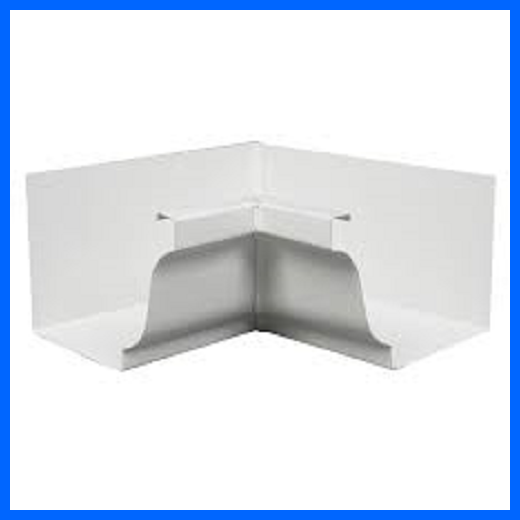 K style 5 inch Aluminum Gutters Customize